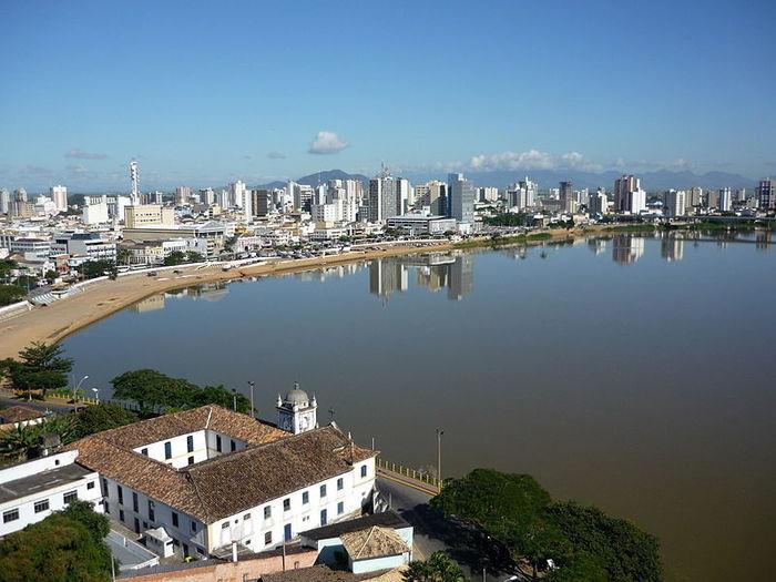 Foto aérea de Campos dos Goytacazes, representando escritório de contabilidade em Campos dos Goytacazes - Abertura Simples