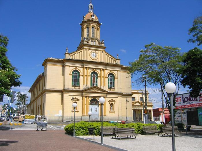Foto da Igreja Matriz de Itu, representando abrir empresa em Itu - Abertura Simples