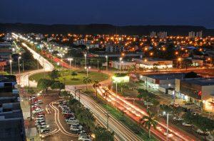 Foto aérea de Palmas, representando escritório de contabilidade em Palmas - Abertura Simples