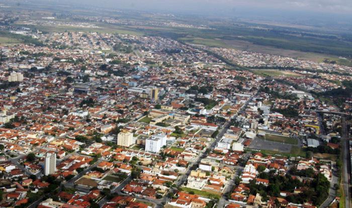 Foto aérea de Pindamonhangaba, representando escritório de contabilidade em Pindamonhangaba - Abertura Simples