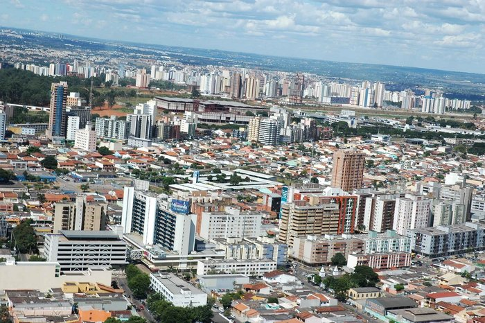 Foto aérea de Taguatinga, representando abrir empresa em Taguatinga - Abertura Simples
