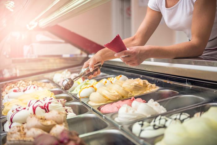Sorvetes de massa, representando como abrir uma sorveteria - Abertura Simples