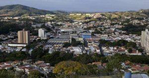 Imagem aérea da cidade para mostrar como é importante saber escolher um escritório de contabilidade em Pedreira