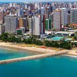 Foto aérea de Fortaleza, representando abrir empresa em Fortaleza - Abertura Simples