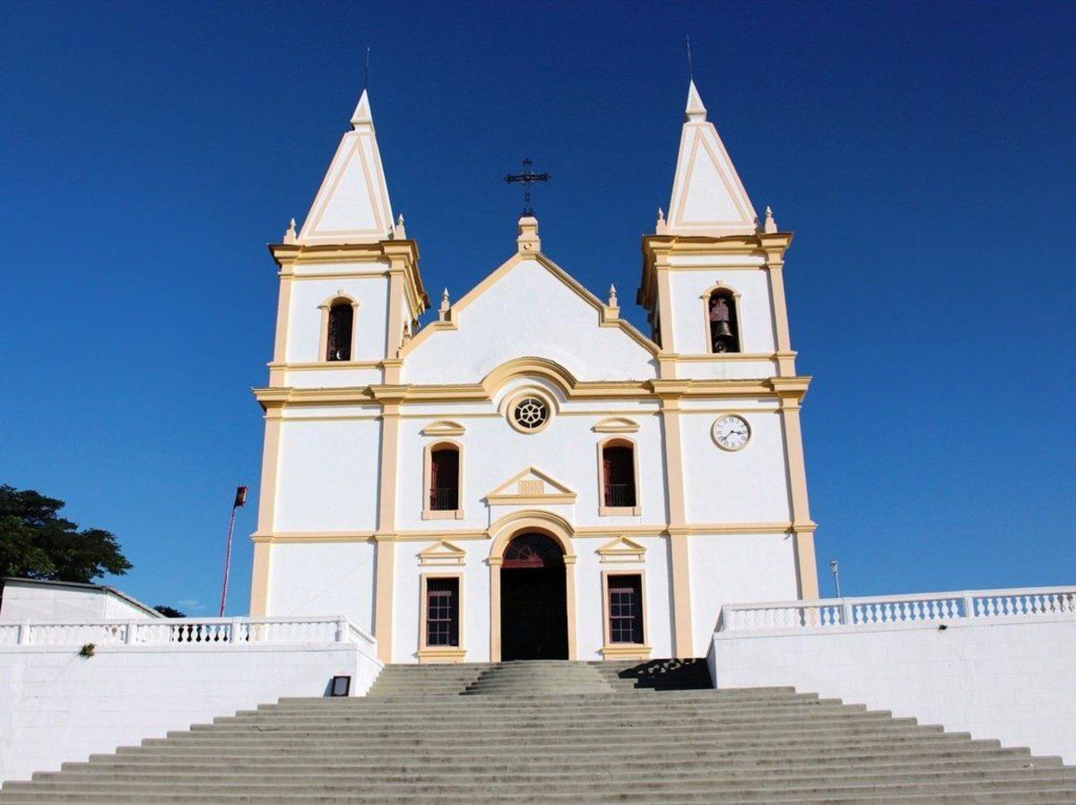 Igreja Matriz de Santa Luzia, representando escritório de contabilidade em Santa Luzia - Abertura Simples