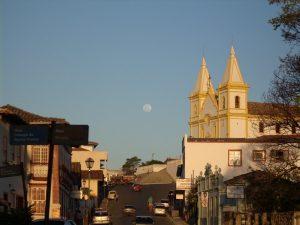 Igreja Matriz de Santa Luzia, representando abrir empresa em Santa Luzia - Abertura Simples
