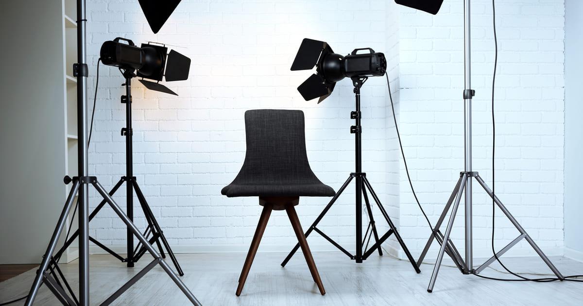 Estúdio fotográfico, representando abrir um estúdio fotográfico - Abertura Simples