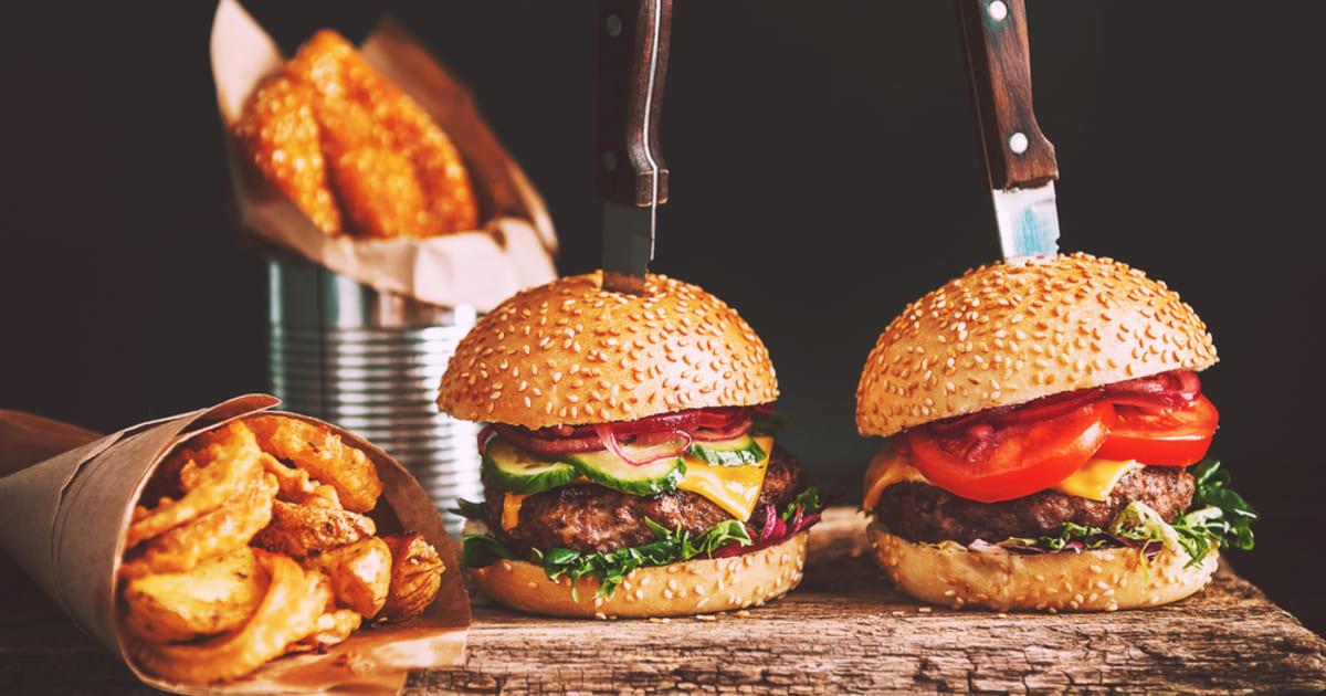 Hambúrguer, representando abrir uma hamburgueria - Abertura Simples