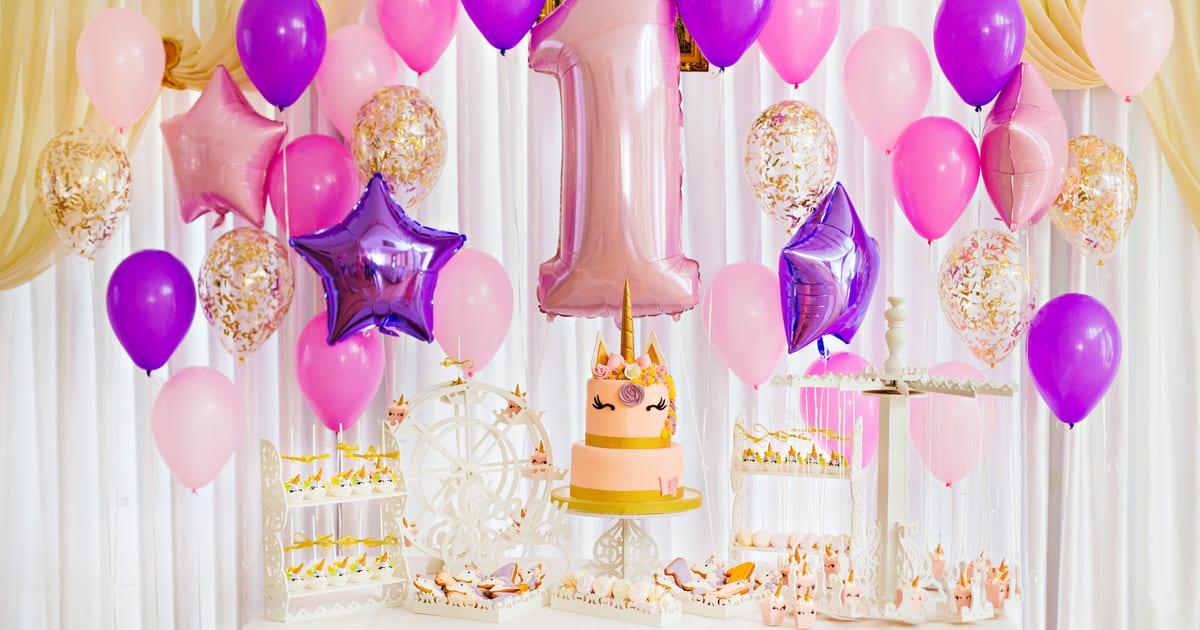 Decoração de festa de aniversário, representando abrir uma empresa de decoração de festas - Abertura Simples