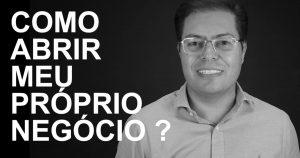 Foto de Rogerio Fameli, thumbnail do vídeo como abrir o próprio negócio
