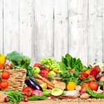 Frutas e legumes, representando abrir um hortifrúti - Abertura Simples