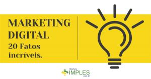 Thumbnail de ilustração dos 20 fatos do marketing digital