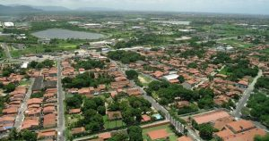 Foto aérea de Maracanaú, representando abrir empresa em Maracanaú - Abertura Simples