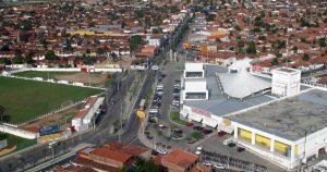 Foto aérea de Maracanaú, representando escritório de contabilidade em Maracanaú - Abertura Simples