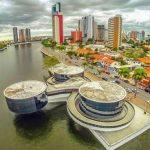 Imagem aérea da cidade para auxiliar os empreendedores que estão em busca de um escritório de contabilidade em Campina Grande