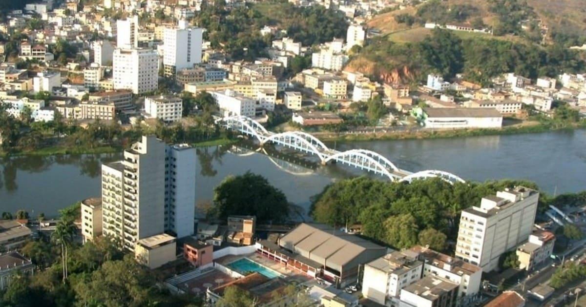 foto da ponte da cidade, representando como abrir empresa em barra mansa