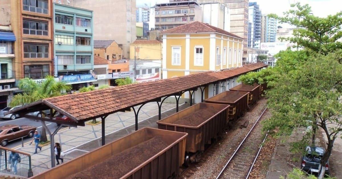 Foto do trilho do trem representando contabilidade em barra mansa