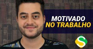 Junior no vídeo explicando como se sentir mais motivado no trabalho
