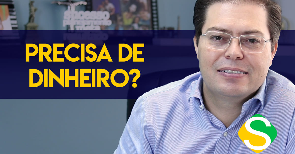 foto de rogerio fameli para a thumbnail do video de como captar recursos