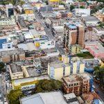 foto de cima da cidade, representando a contabilidade em gravataí