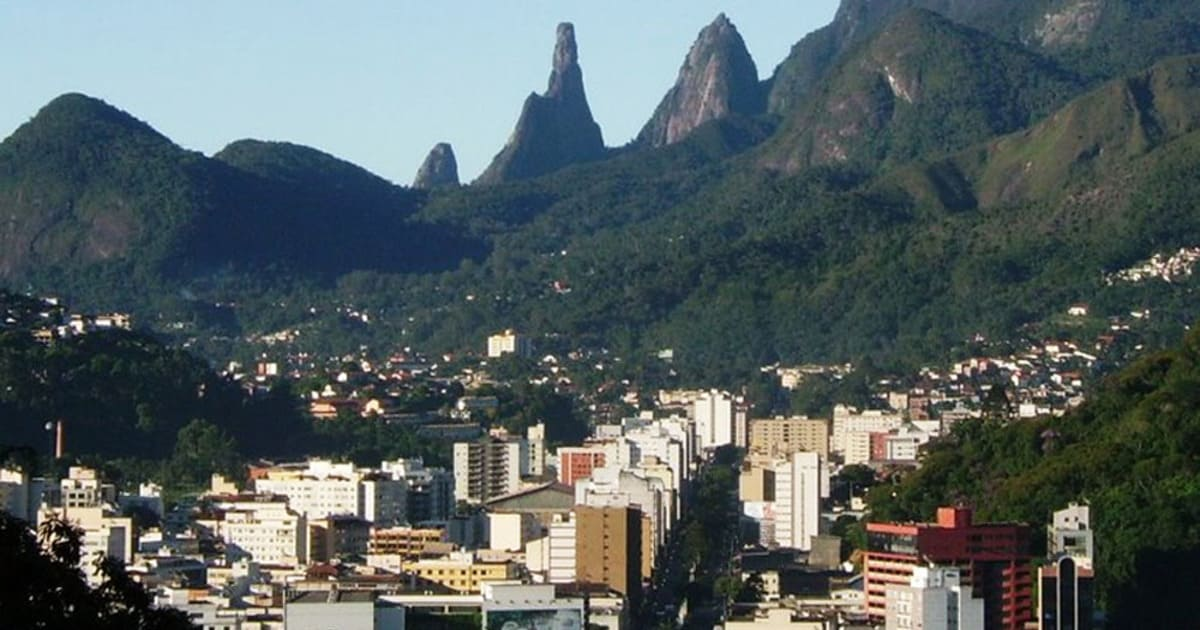 foto da cidade, representando