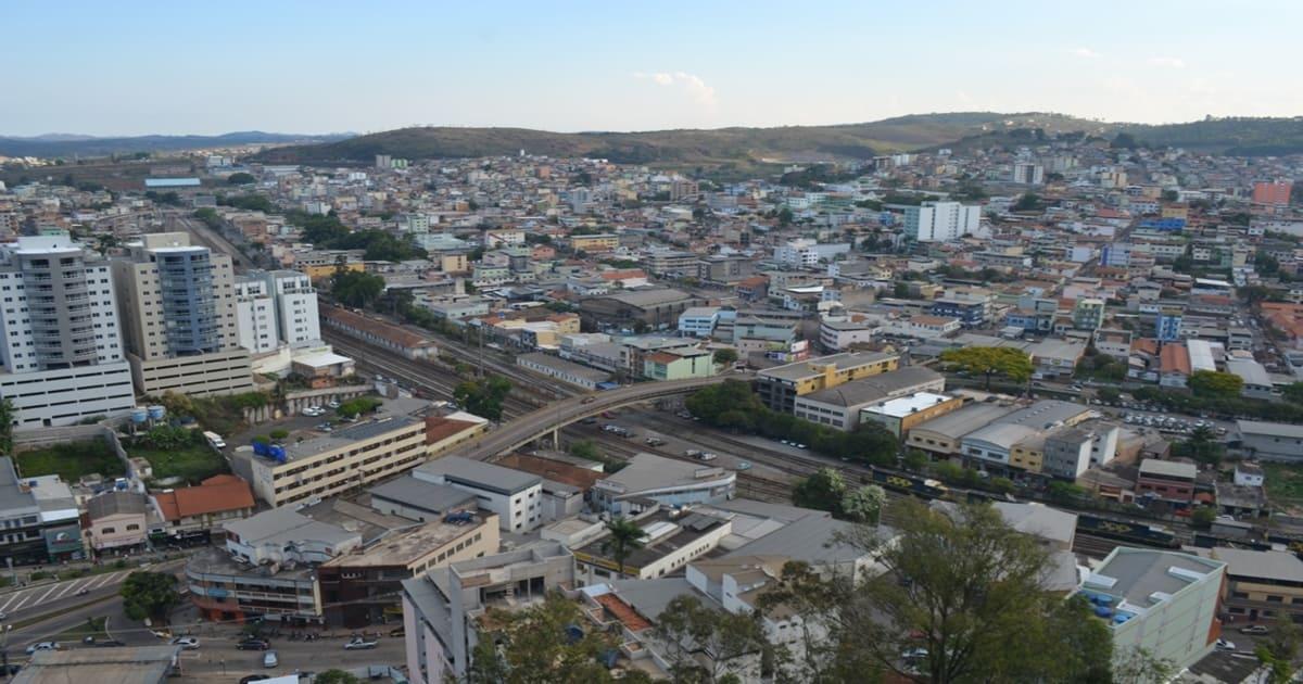 Vista da cidade de Conselheiro Lafaiete