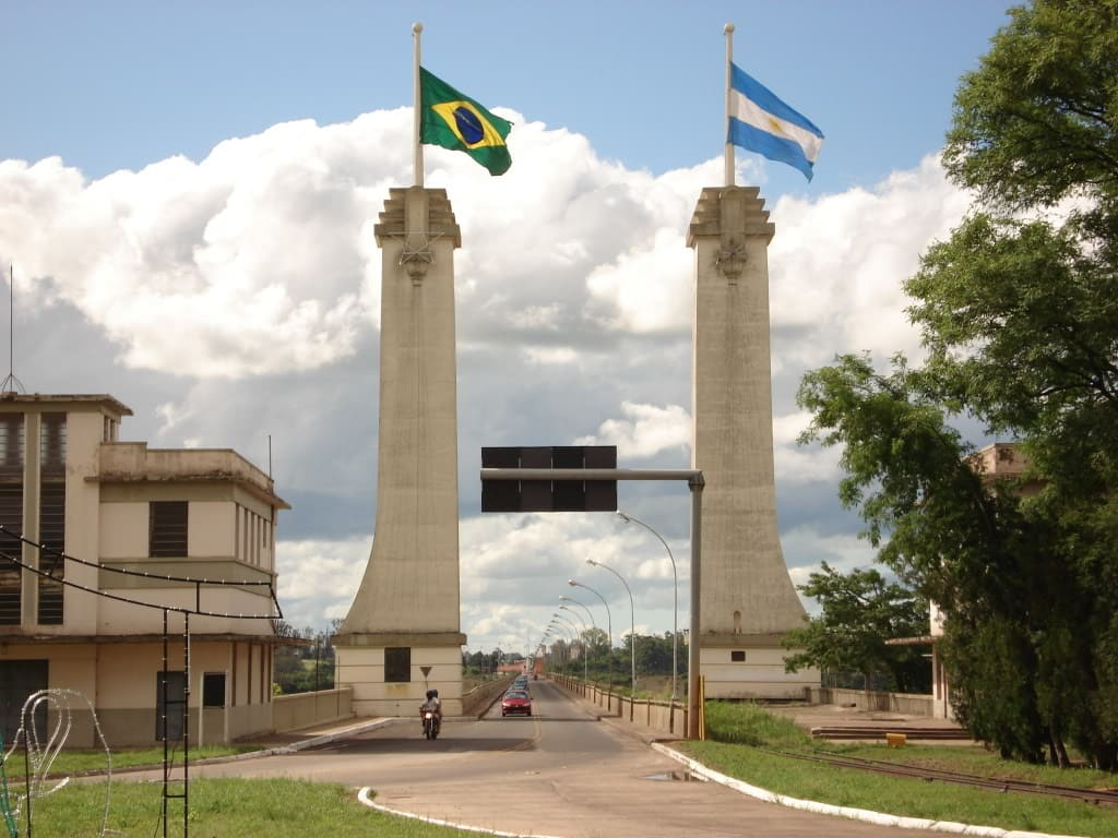 foto da cidade que é importante na comercio internacional da região para auxiliar empreendedores que estão buscando escritório de contabilidade em Uruguaiana