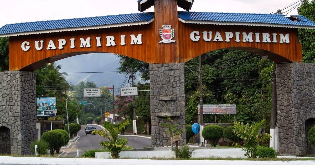 foto do portal da cidade, representando abrir empresa em Guapimirim