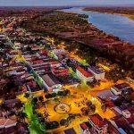 foto aérea da cidade, representando abrir empresa em januária