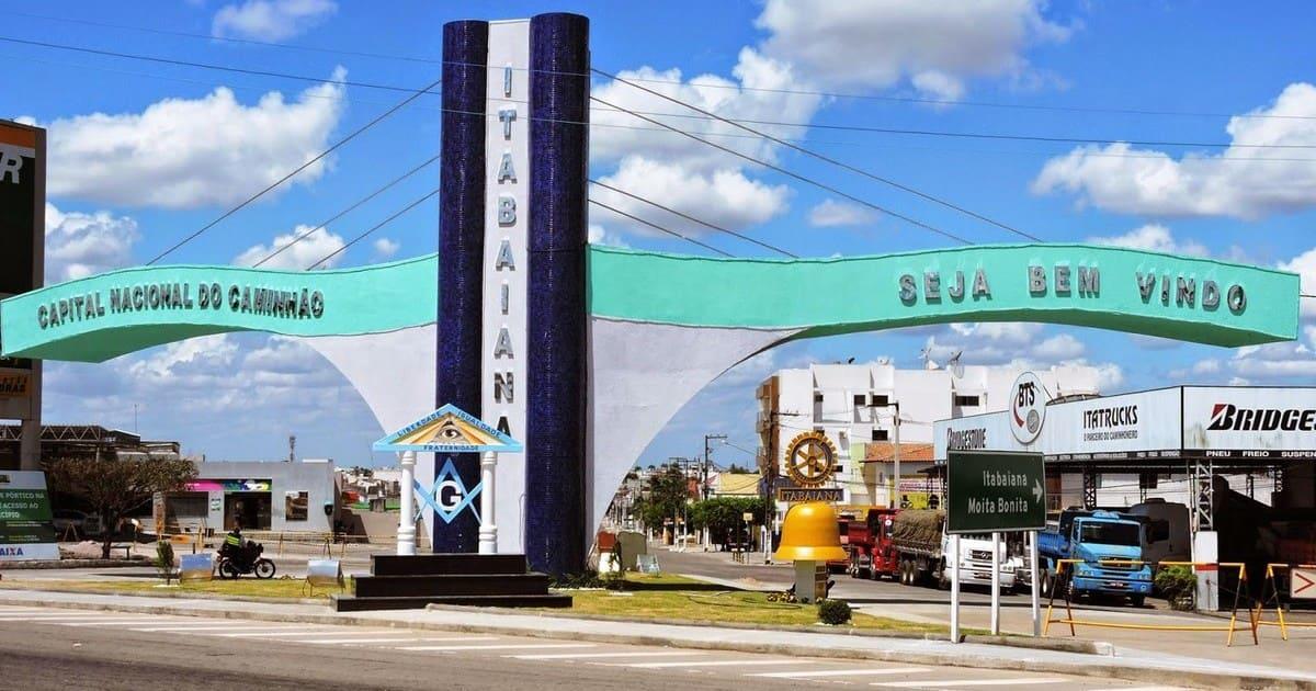 Imagem da entrada da cidade para quem quer escolher um escritório de contabilidade em Itabaiana para a sua empresa