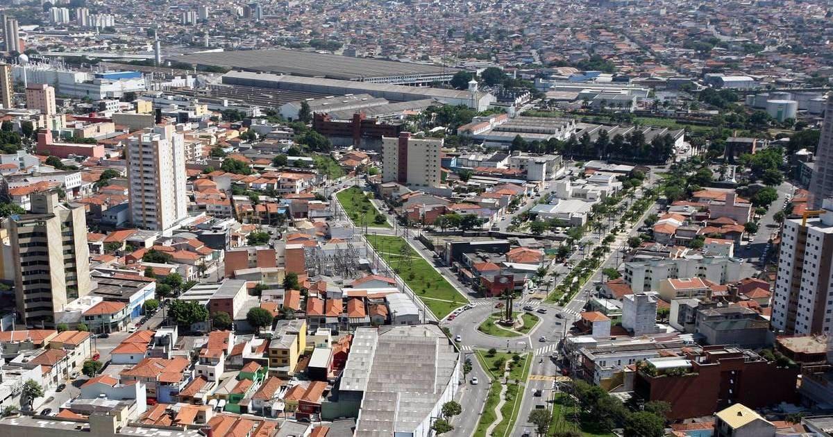 Imagem aérea para quem quer escolher um escritório de contabilidade em São Caetano do Sul