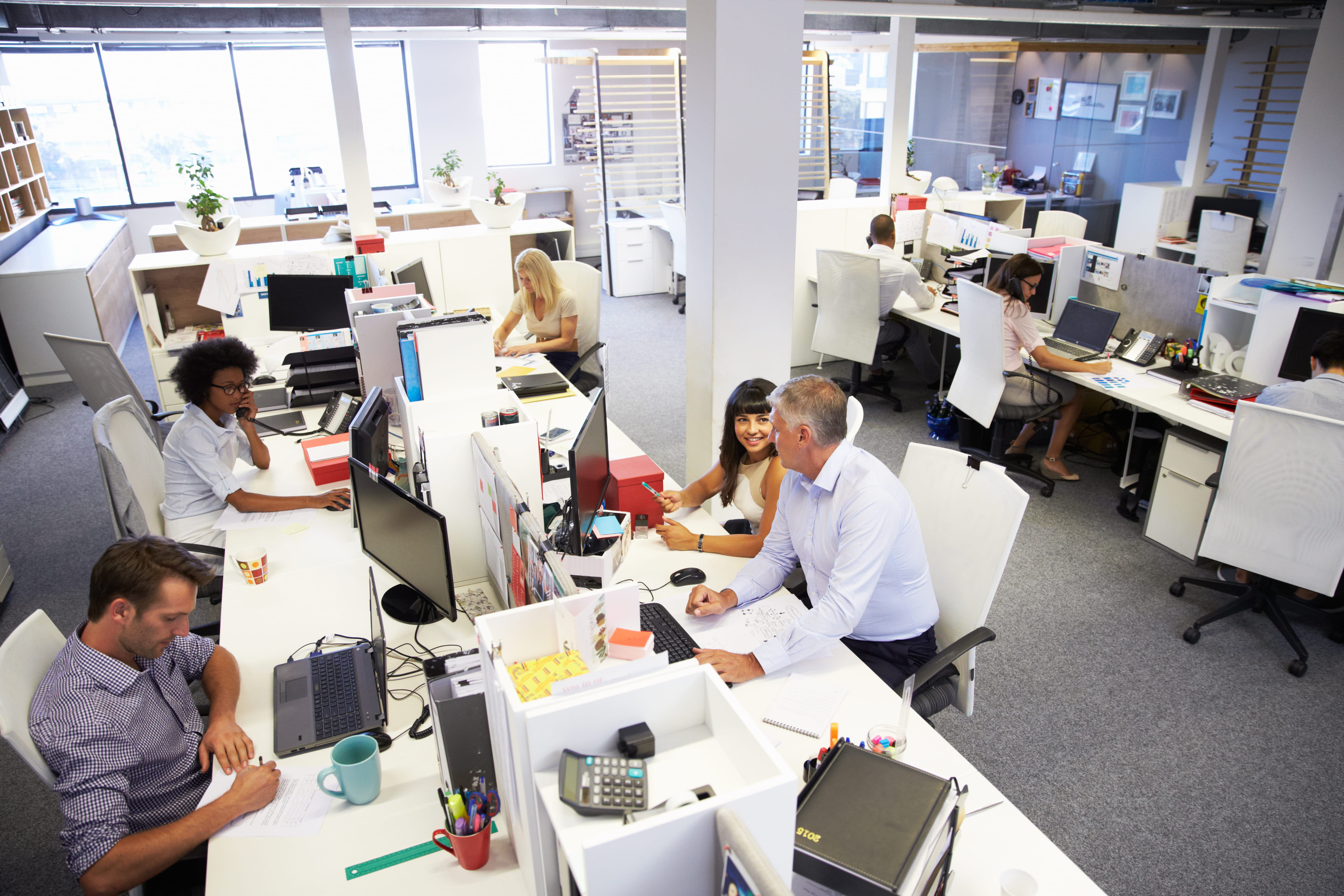 Foto de uma empresa grande com vários funcionários para inspirar quem quer empreender em Uruguaiana