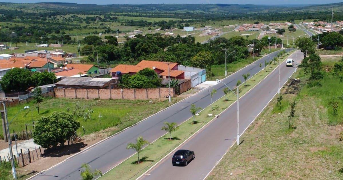 Imagem de vias da cidade para quem pretende abrir empresa em Novo Gama