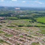 Imagem aérea da cidade que é grande e viabiliza ao empreendedor escolher um escritório de contabilidade em Novo Gama
