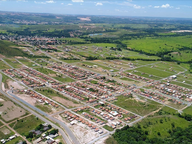 Imagem aérea da cidade para quem quer abrir empresa em Novo Gama e ter sucesso em seu negócio