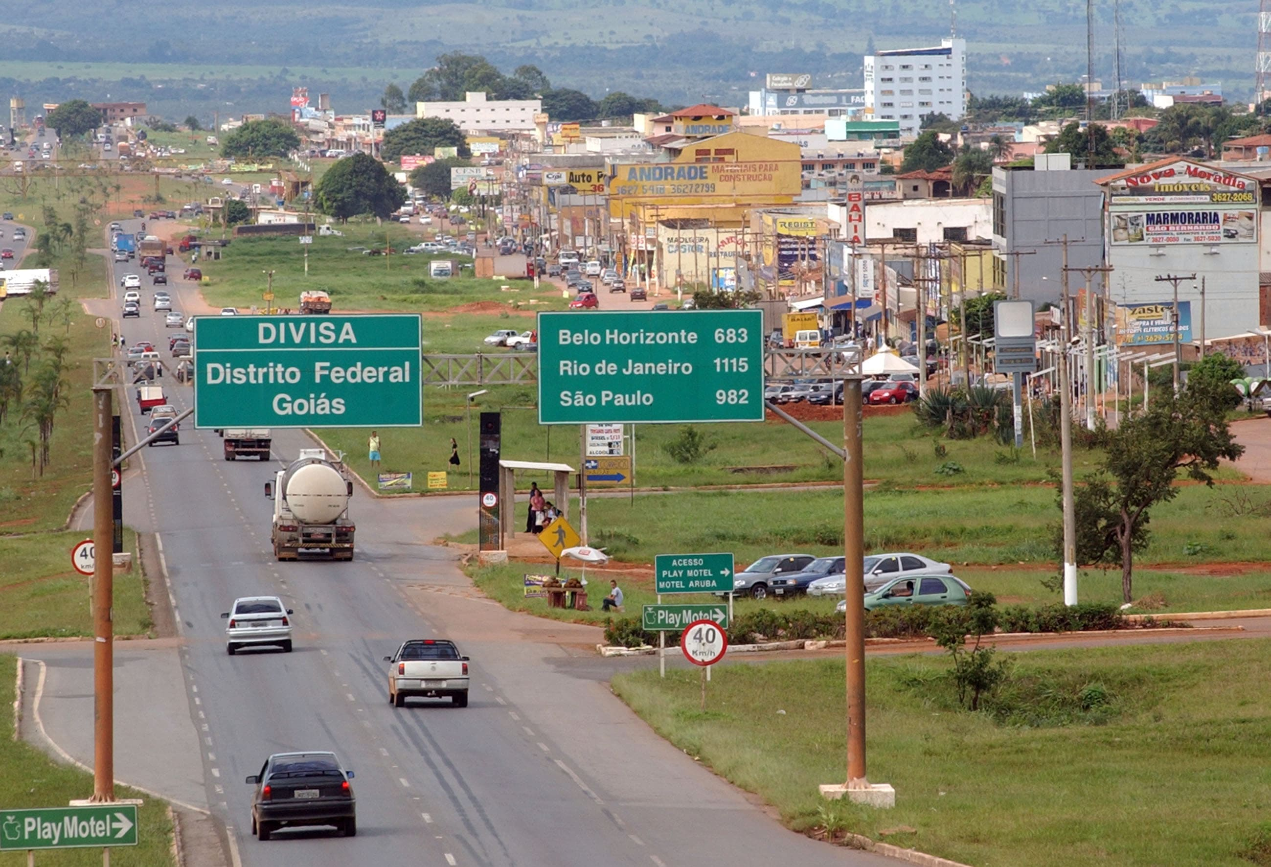 Imagem da cidade para quem quer abrir empresa em Valparaíso de Goiás