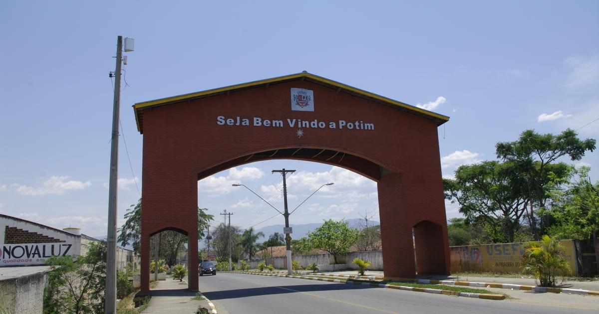 Foto da entrada da cidade para motivar o empreendedor que quer abrir empresa em Potim