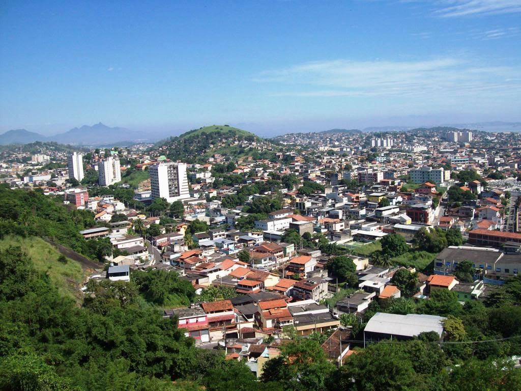 Imagem da vista aérea da cidade para quem que escolher um escritório de contabilidade em São Gonçalo