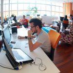 foto de um escritório de uma das startups unicórnio