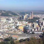 Imagem aérea da cidade que recebe milhares de turistas ao longo do ano para ilustrar ao empreendedor que deseja escolher um escritório de contabilidade em Aparecida