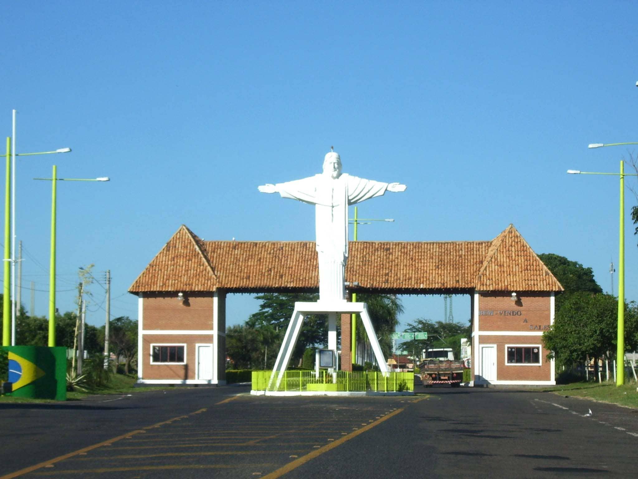 Imagem da entrada da cidade para quem deseja escolher um escritório de contabilidade em Sales