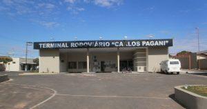 Imagem do terminal rodoviário da cidade para quem deseja escolher um escritório de contabilidade em Irapuã