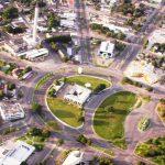 Foto aérea de praça da cidade, representando como abrir empresa em Boa Vista