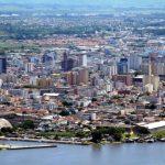 Foto aérea da cidade, representando os passos para abrir empresa em Pelotas