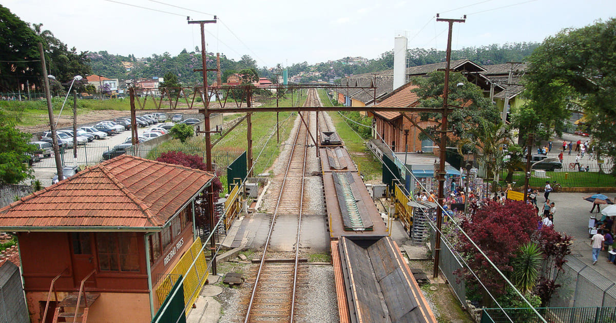 foto de estação rodoviária da cidade, representando abrir empresa em ribeirão pires