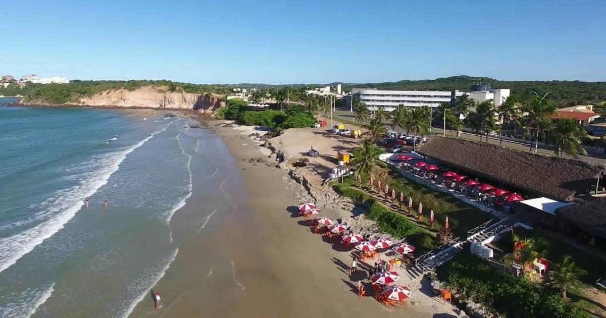foto de praia da cidade, representando a contabilidade em parnamirim