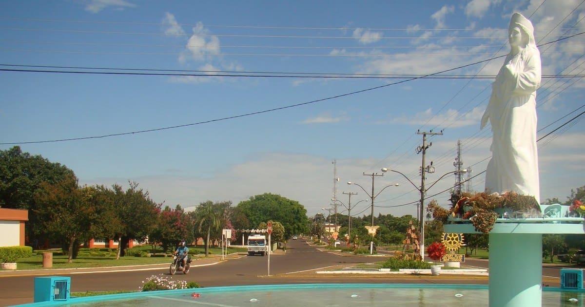 Imagem da entrada da cidade para remeter aqueles que estão procurando um escritório de contabilidade em Santa Bárbara do Sul