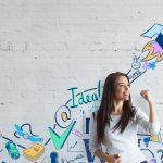 foto de uma garota representando o empreendedorismo jovem