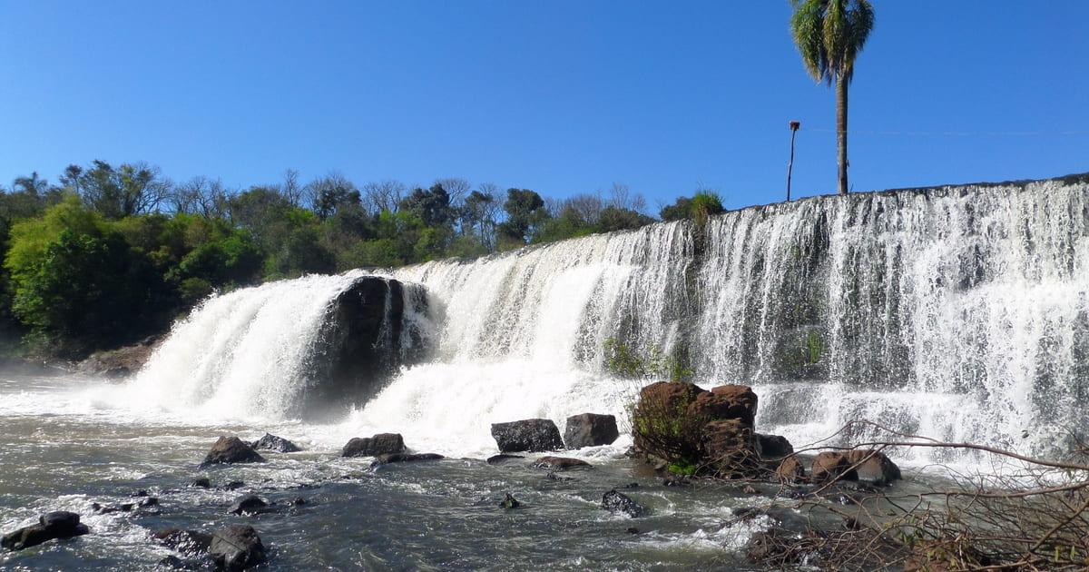 Imagem da cachoeira símbolo da cidade para remeter aqueles que estão buscando um escritório de contabilidade em Panambi
