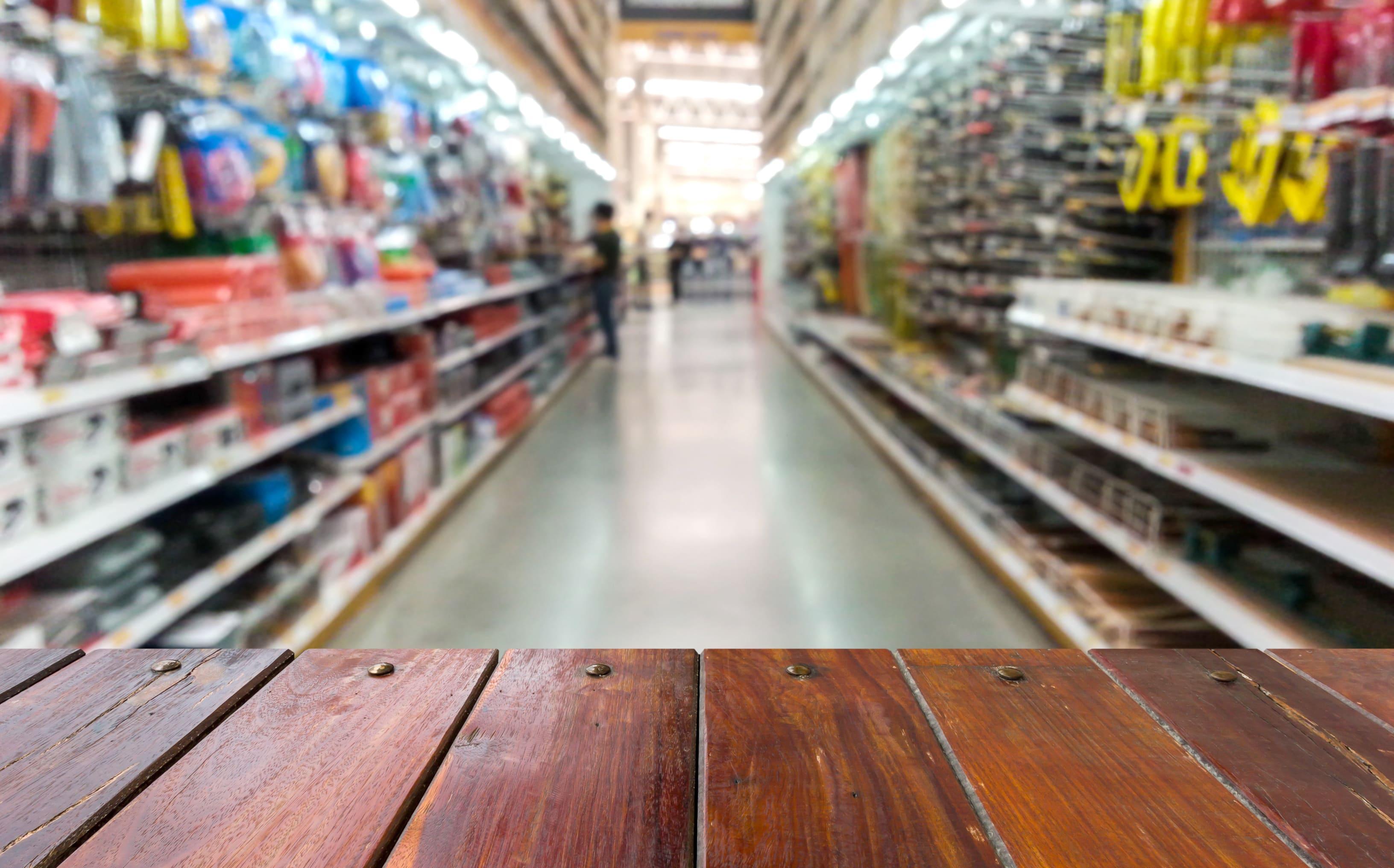 Imagem de uma loja para inspirar o empreendedor que está pensando em abrir uma loja de material de construção